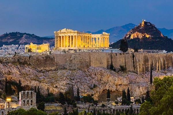 آکروپولیس یونان