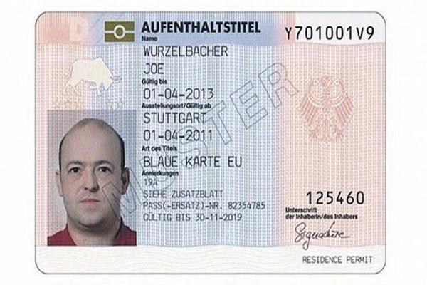بلوکارت آلمان، بالاترین سطح اقامتی آلمان