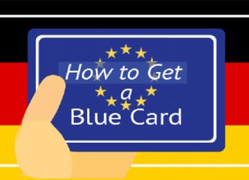 اخذ ویزای دائم آلمان با بلوکارت
