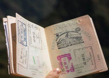 فرق پاسپورت و ویزا